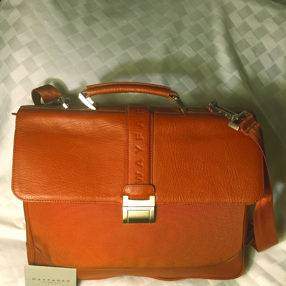 37e6c9164a The Bridge Wayfarer Bags | Business Bagbriefcase Nwot | Poshmark